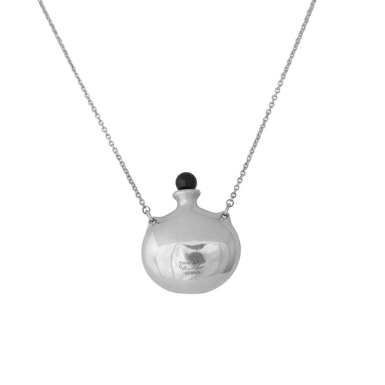 Tiffany & Co. Elsa Peretti Round Bottle Pendant Necklace - Necklaces