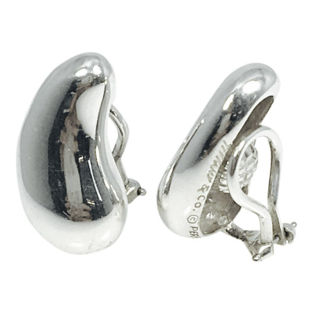 Tiffany & Co. Elsa Peretti Vintage Teardrop Ear Clips Earrings Tiffany & Co.