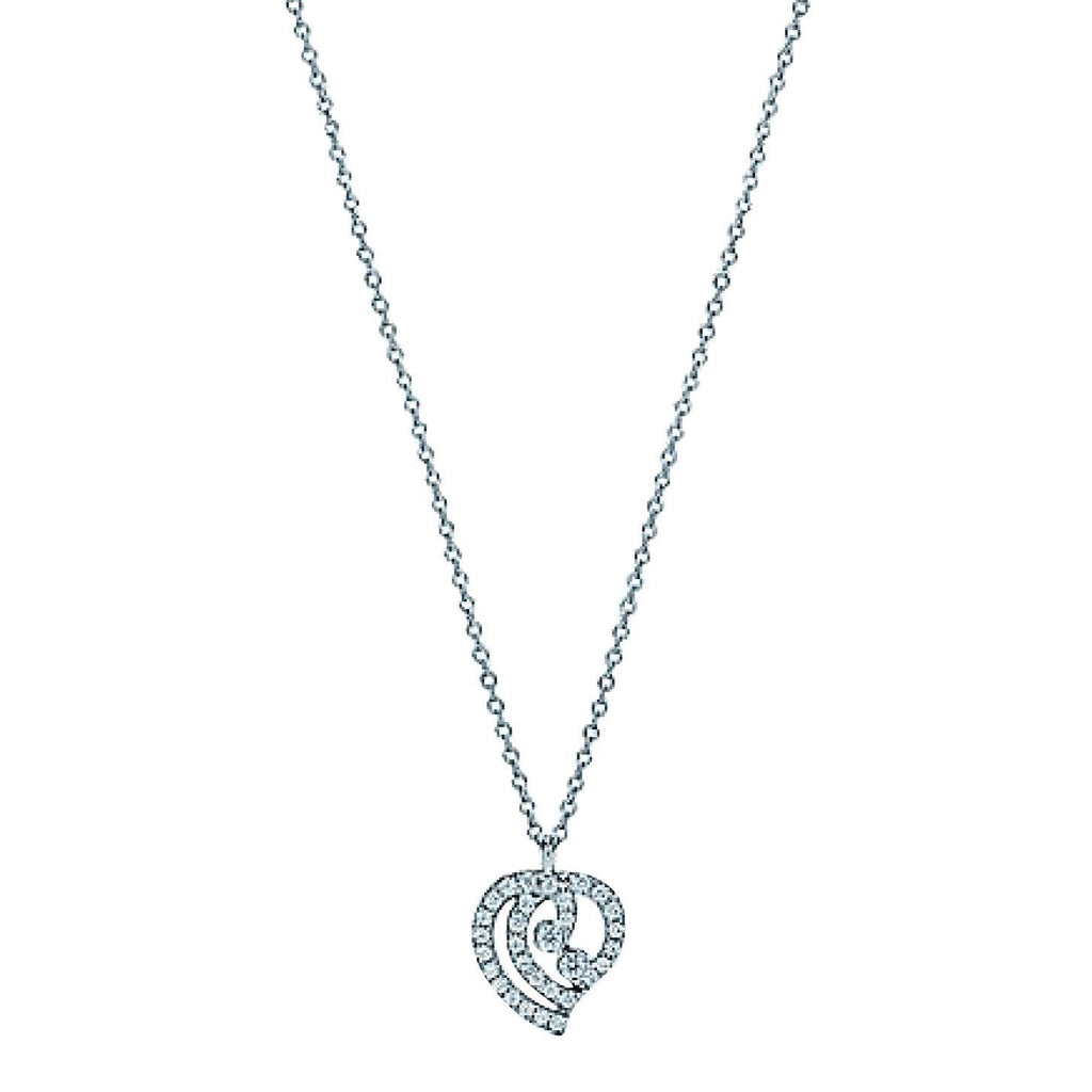 Tiffany & Co. Enchant Diamond Heart Pendant Necklace Necklaces Tiffany & Co.