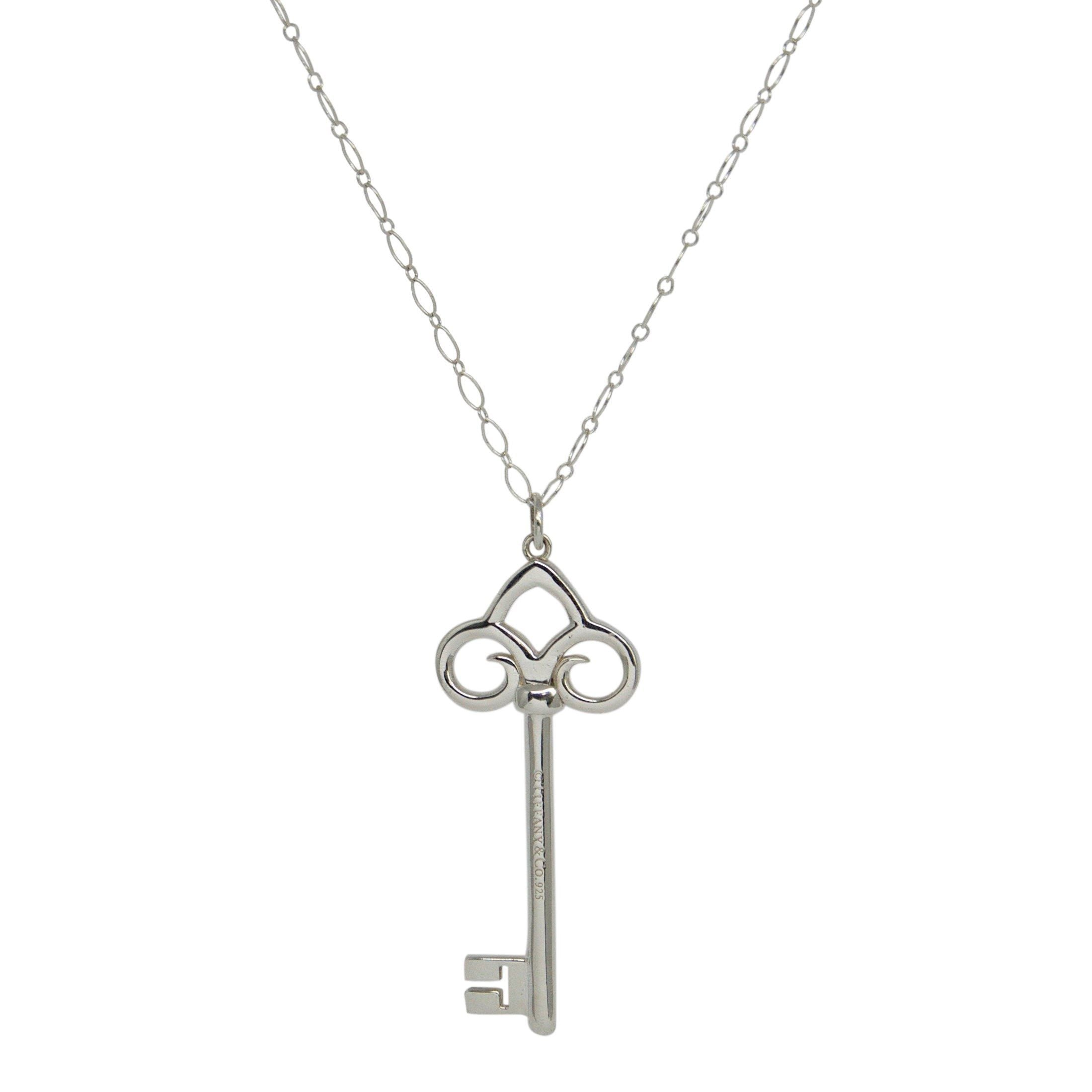 142a28eb5 Tiffany & Co. Fleur De Lis Key Pendant Necklace– Oliver Jewellery