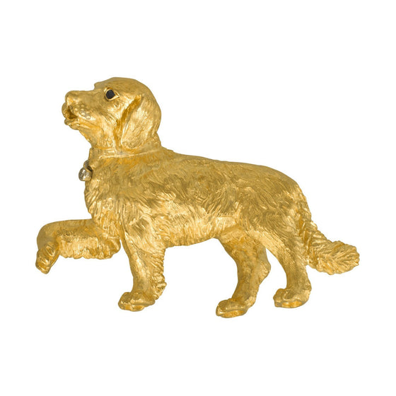 Tiffany & Co. Golden Retriever Brooch Brooches & Pins Tiffany & Co.