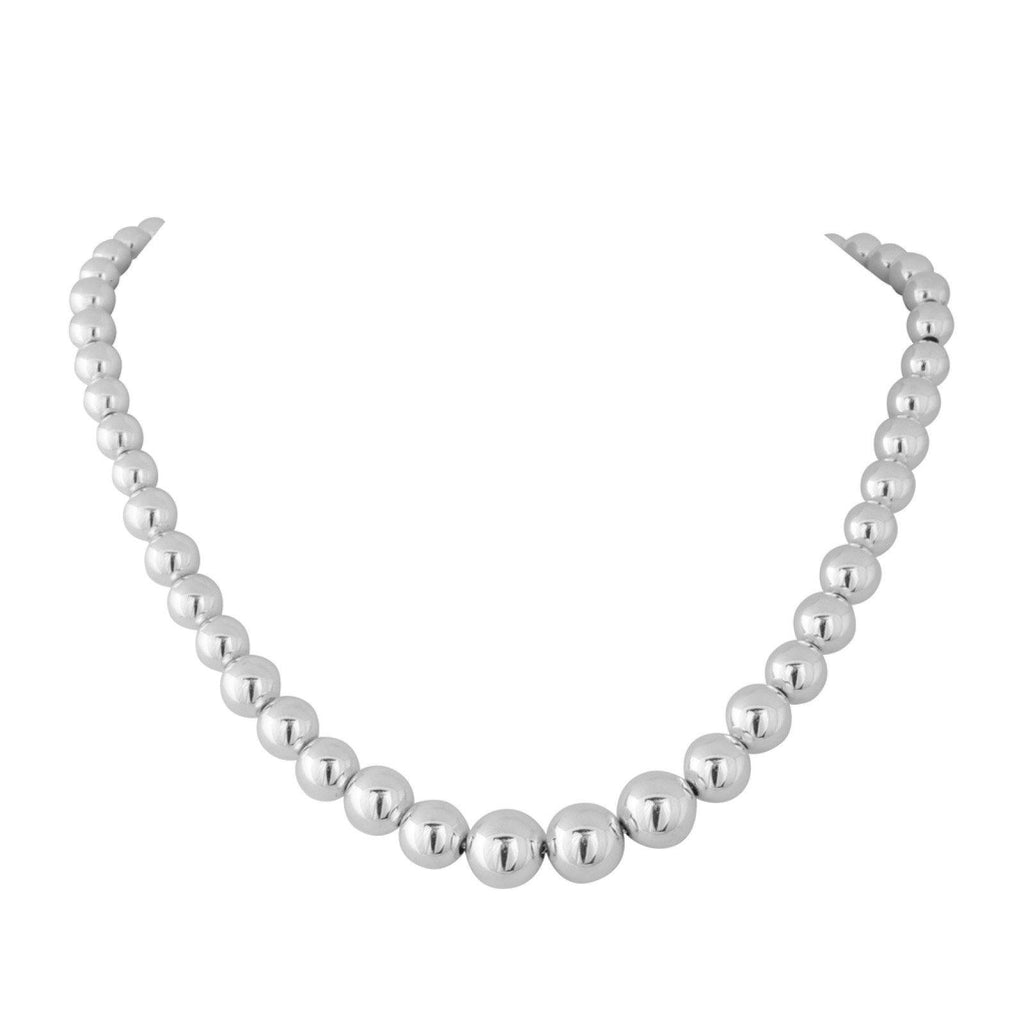 Tiffany & Co. Graduated Bead Necklace - Necklaces