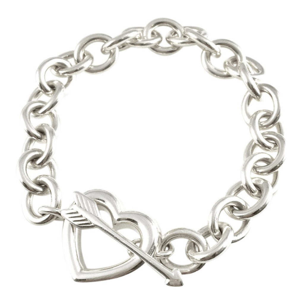 Tiffany & Co. Heart and Arrow Toggle Bracelet Bracelets Tiffany & Co.