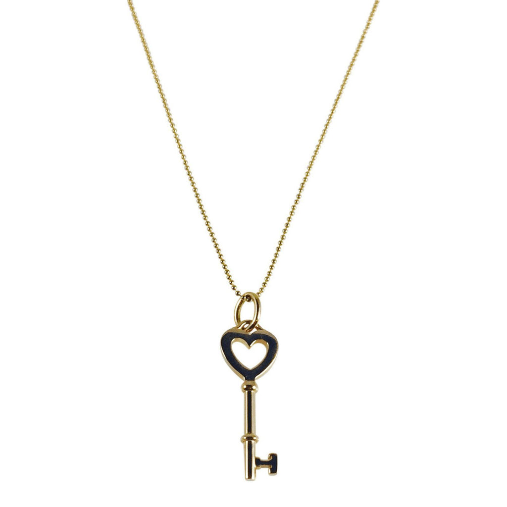 Tiffany & Co. Heart Key Charm Necklace Necklaces Tiffany & Co.