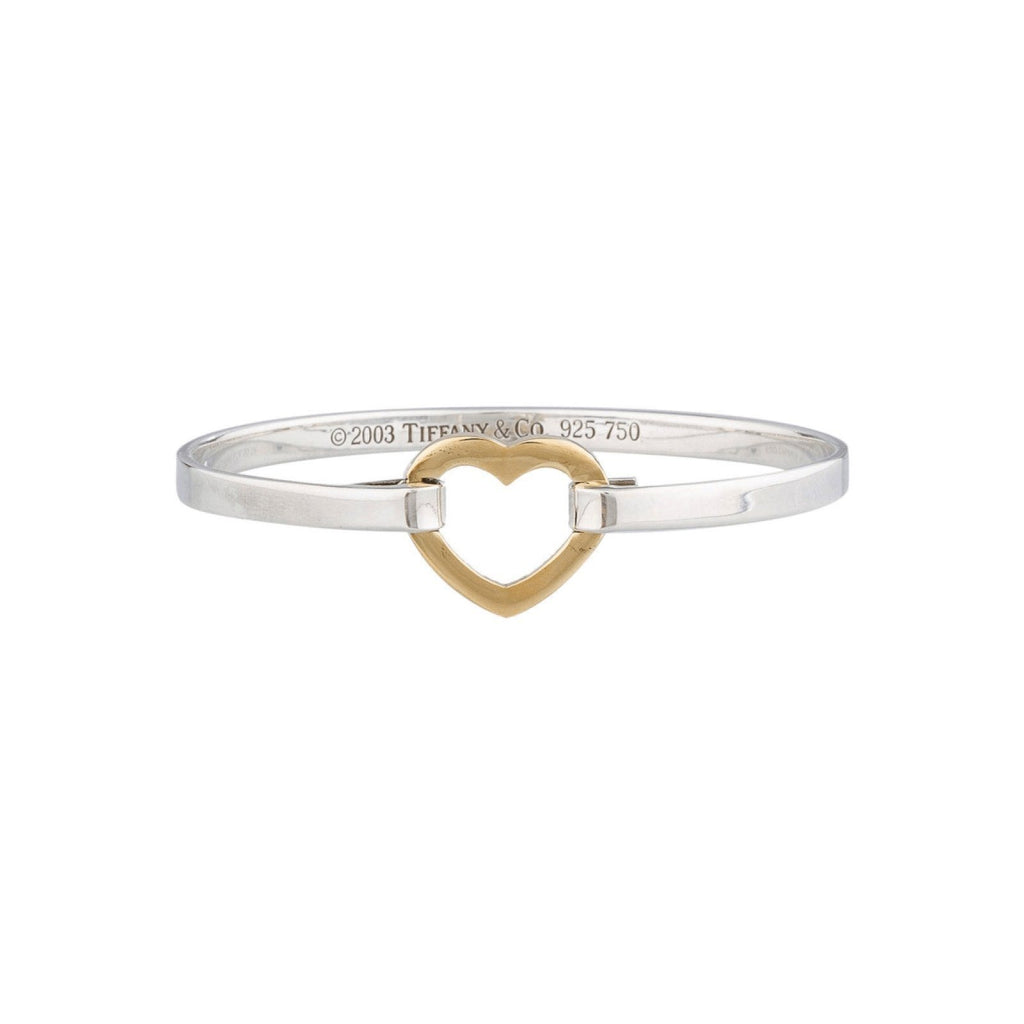 Tiffany & Co. Heart Shaped Hook Clasp Bracelet Bracelets Tiffany & Co.