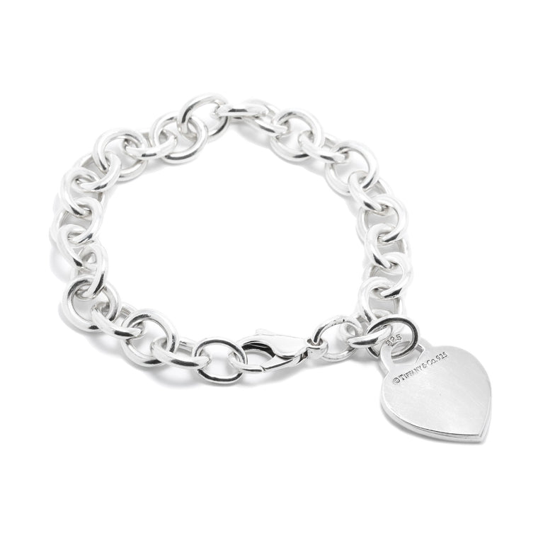 Tiffany & Co. Heart Tag Charm Bracelet Bracelets Tiffany & Co.