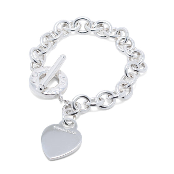 Tiffany & Co. Heart Tag Charm Bracelet with Toggle Clasp Bracelets Tiffany & Co.