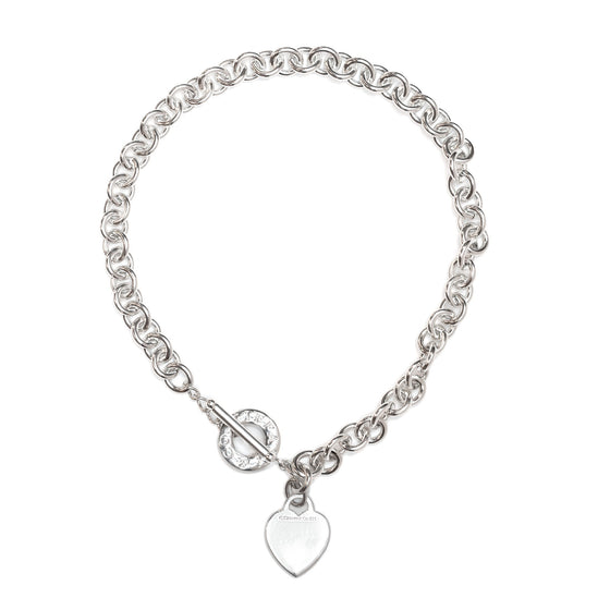 58d57f39c Tiffany & Co. Heart Tag Necklace with Toggle Clasp Necklaces Tiffany ...