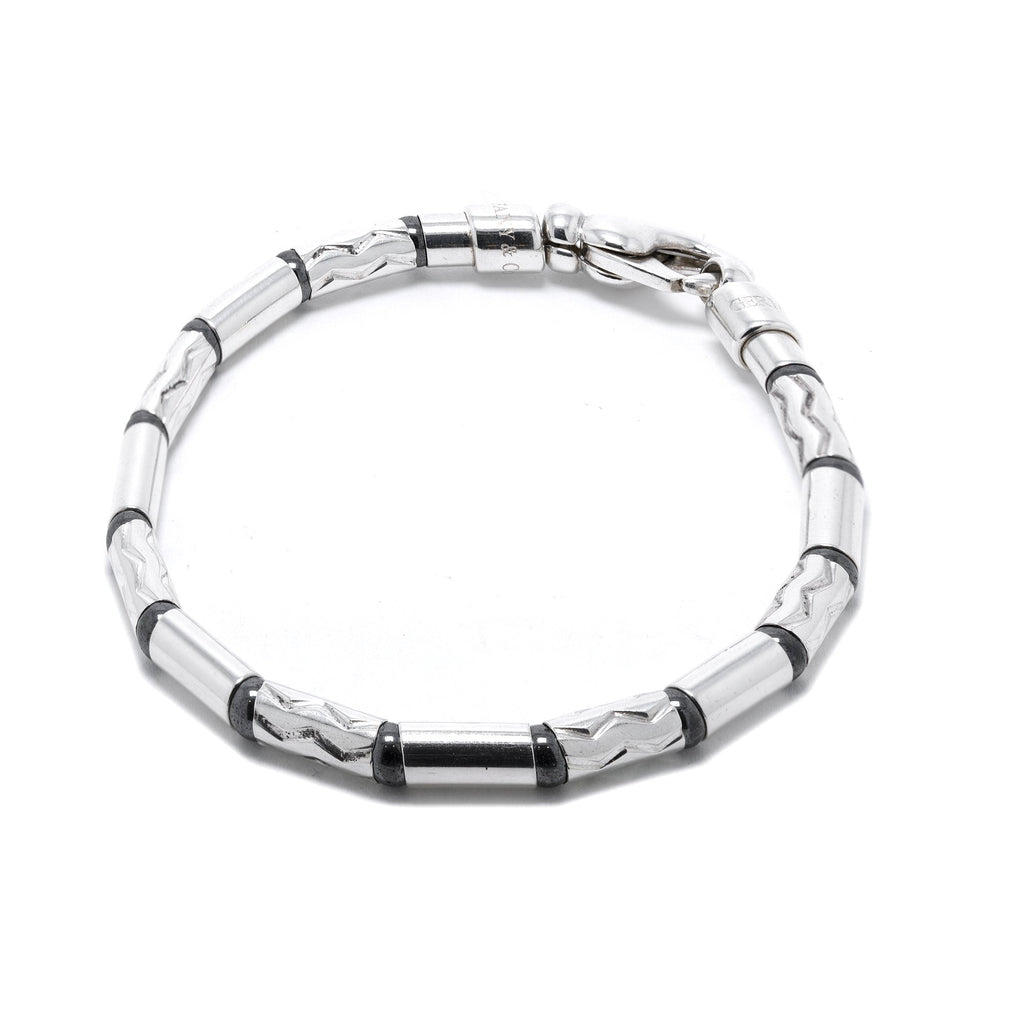 Tiffany & Co. Hematite Aztek Zigzag Bracelet Bracelets Tiffany & Co.