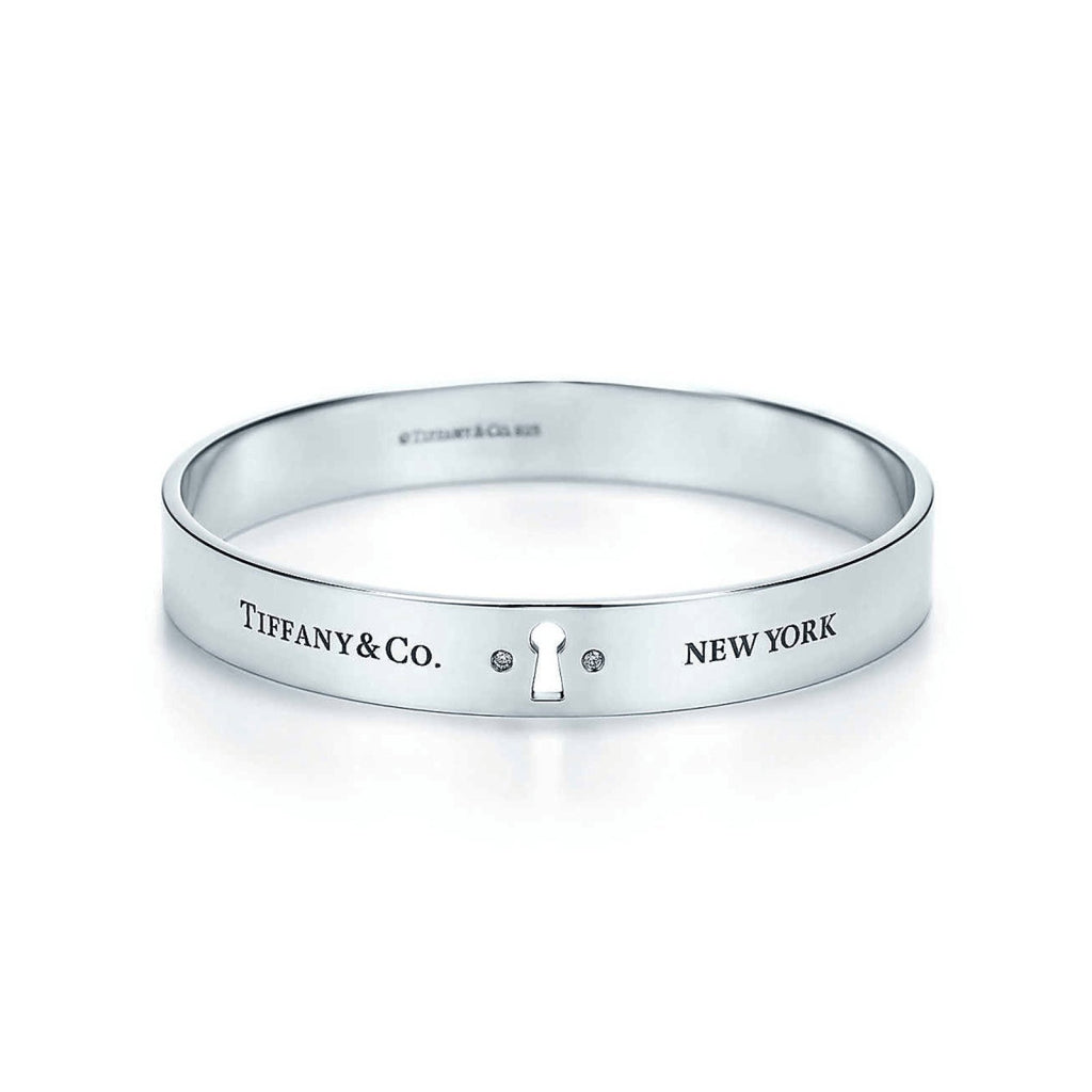Tiffany & Co. Locks Narrow Bangle - Bracelets