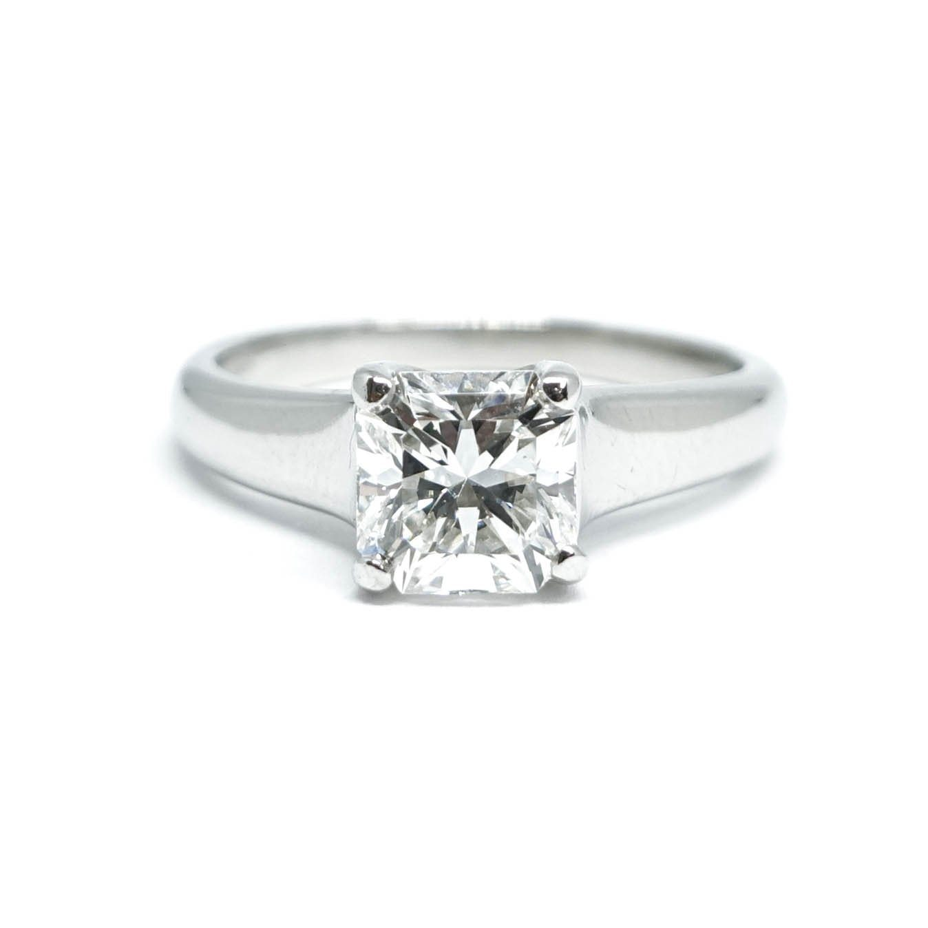 de264826d Tiffany & Co. Lucida Diamond Solitaire Engagement Ring– Oliver Jewellery