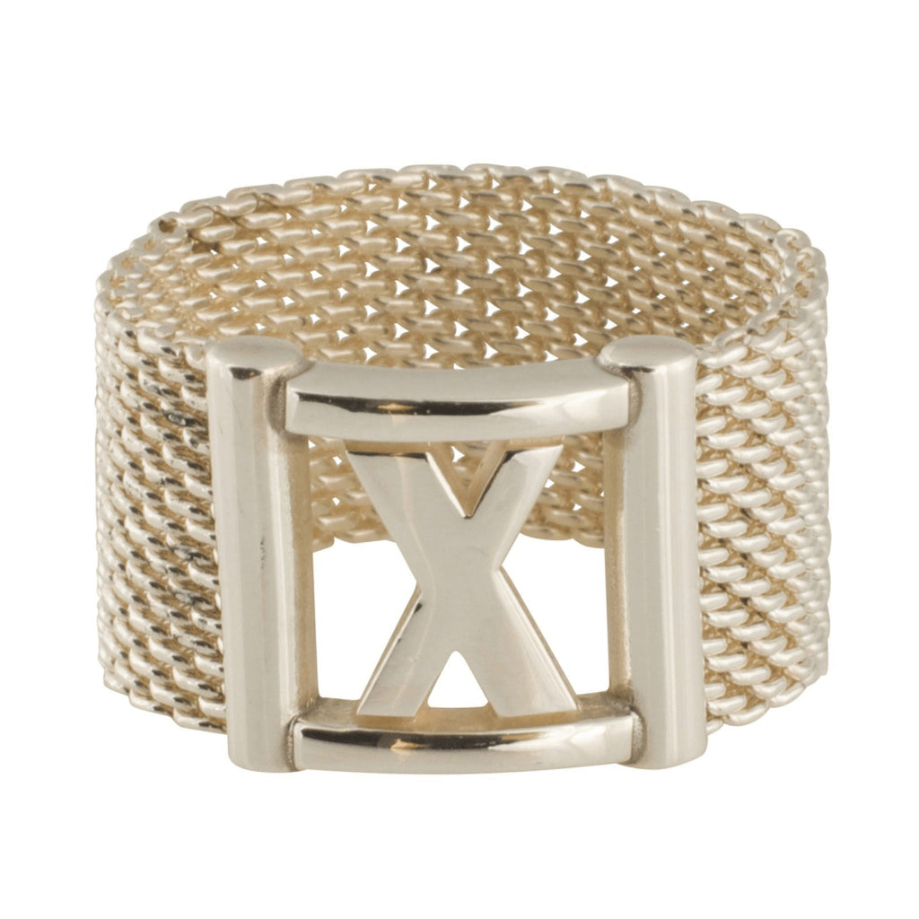 Tiffany & Co. Mesh 'X' Ring Rings Tiffany & Co.