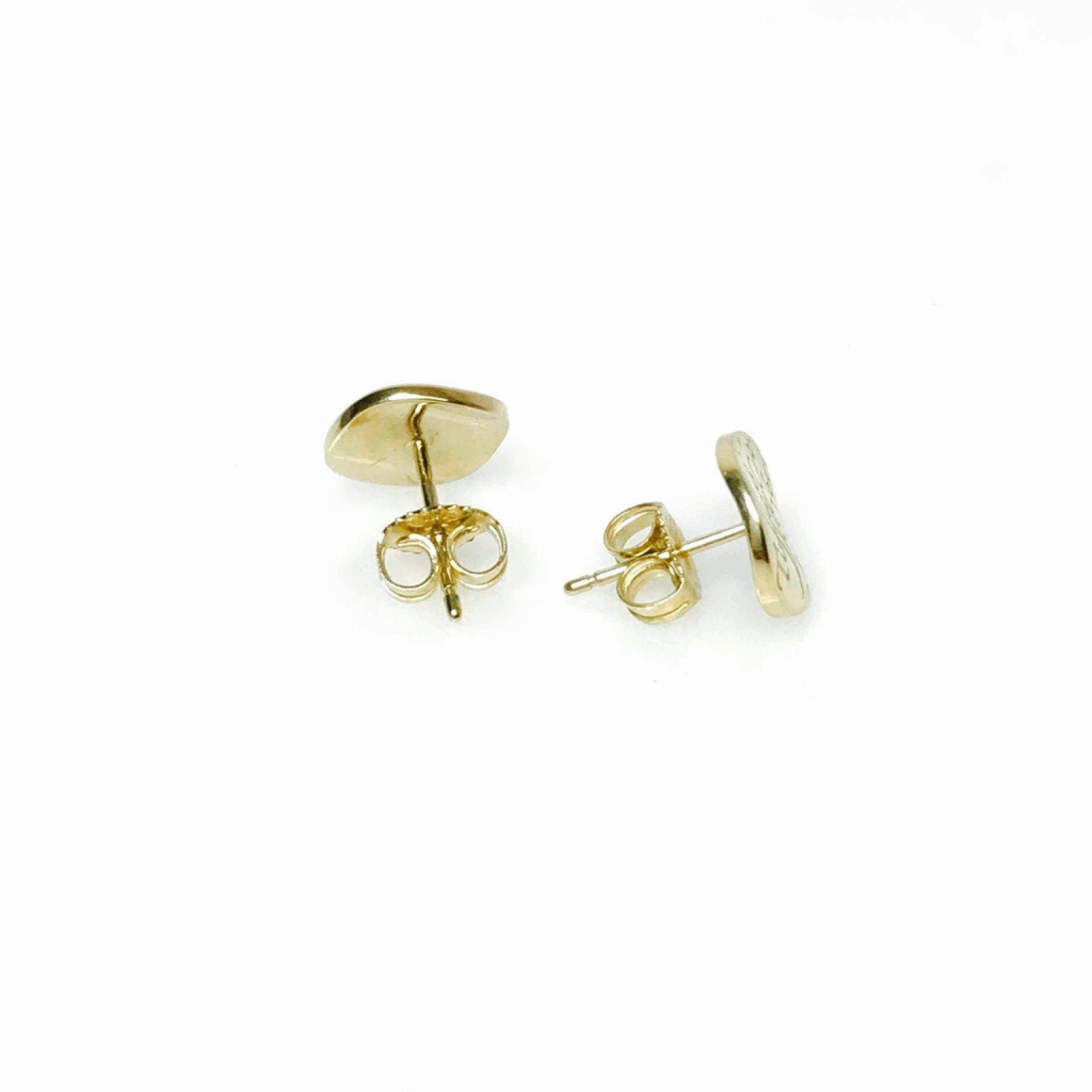 a0cc5a9bf Mini Notes Round Tag Earrings in 18kt Yellow Gold Earrings Tiffany &