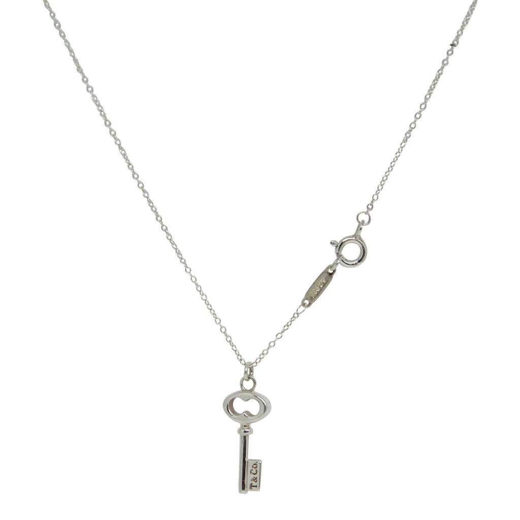 Tiffany & Co. Mini T & CO. Key Pendant Necklace Necklaces Tiffany & Co.