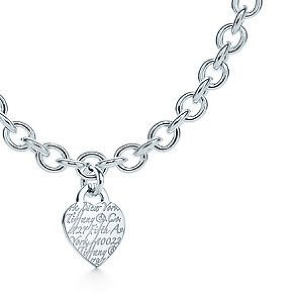 Tiffany & Co. Notes Heart Tag Necklace Necklaces Tiffany & Co.