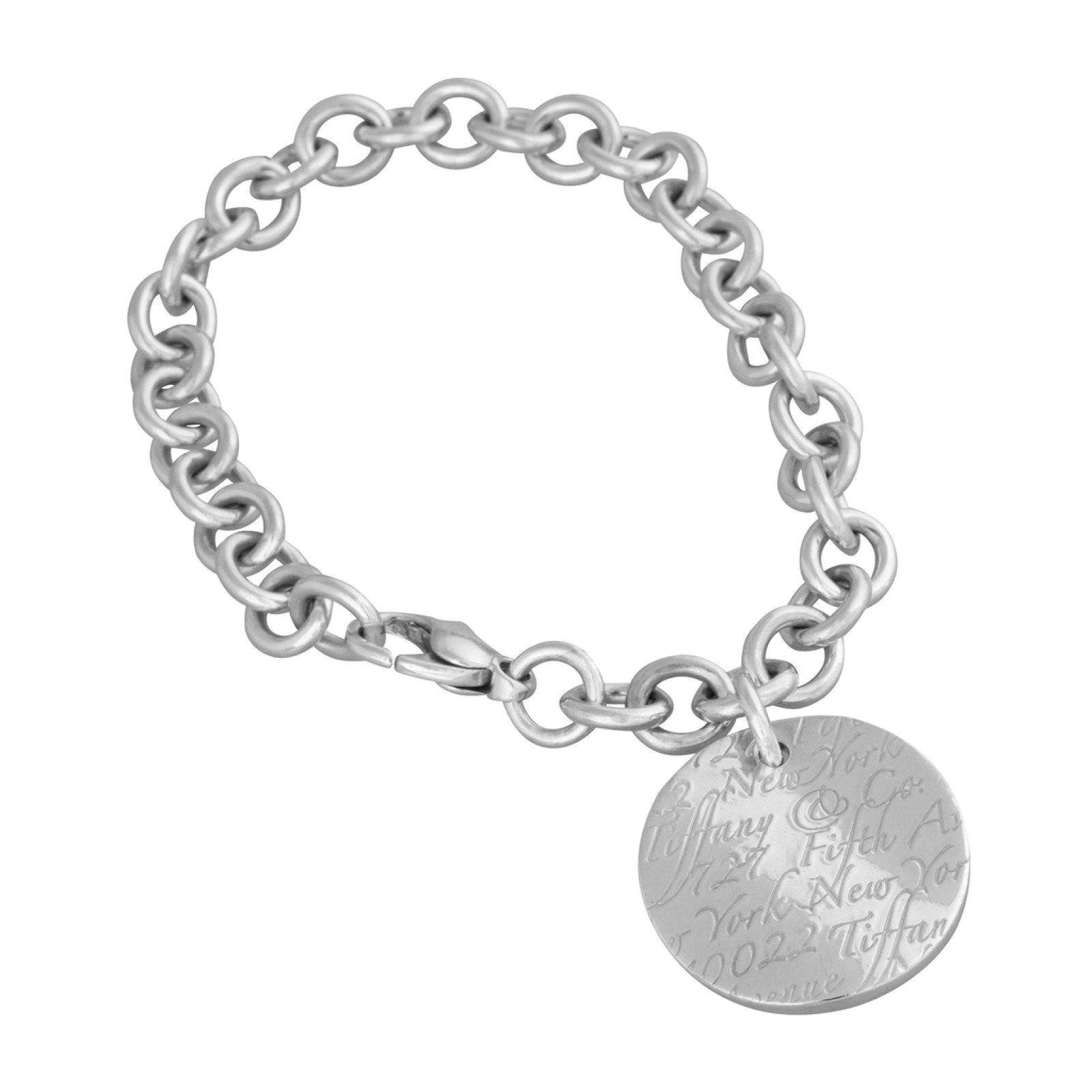 60a9c9aa5 Tiffany & Co. Notes Round Tag Bracelet– Oliver Jewellery