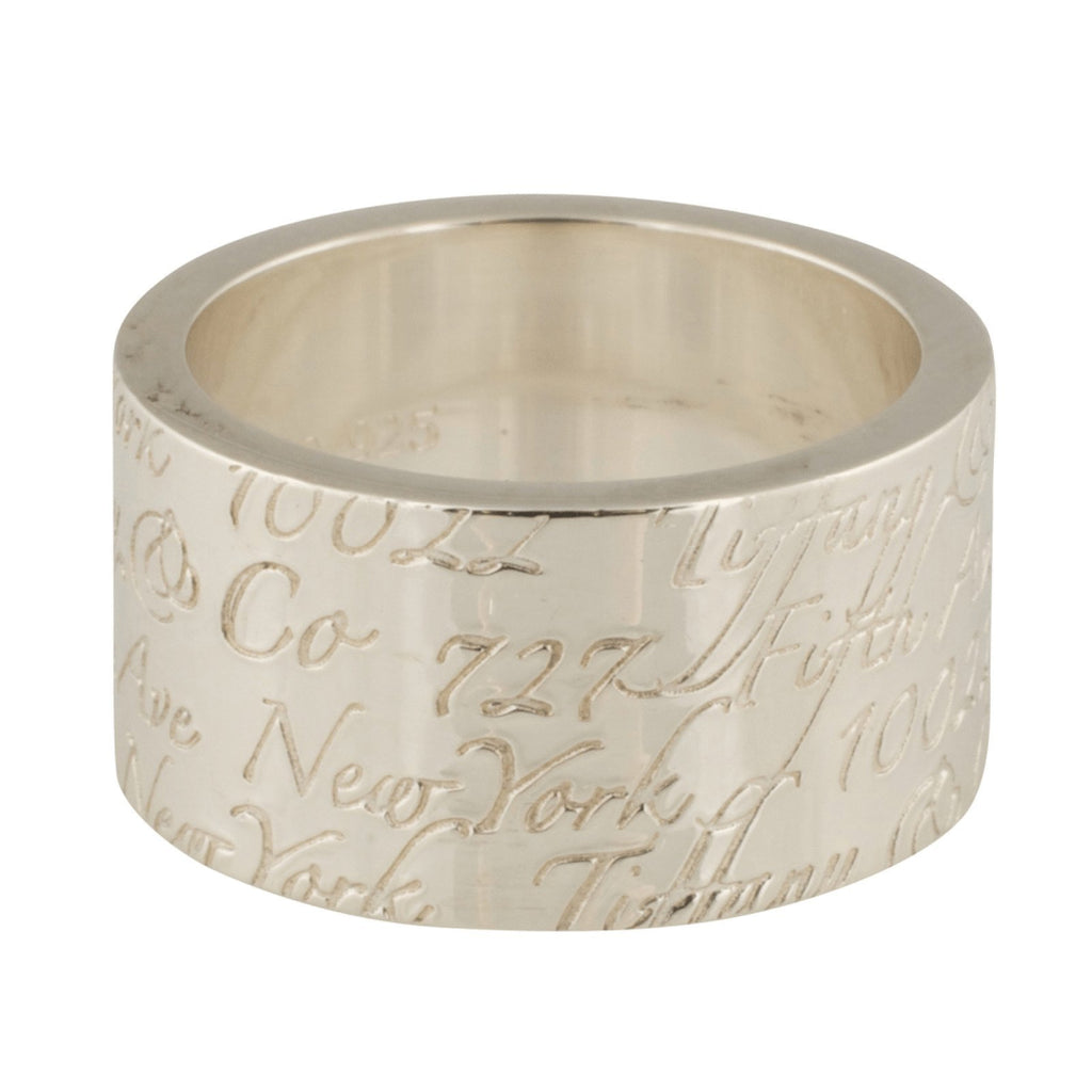 Tiffany & Co. Notes Wide Ring Rings Tiffany & Co.