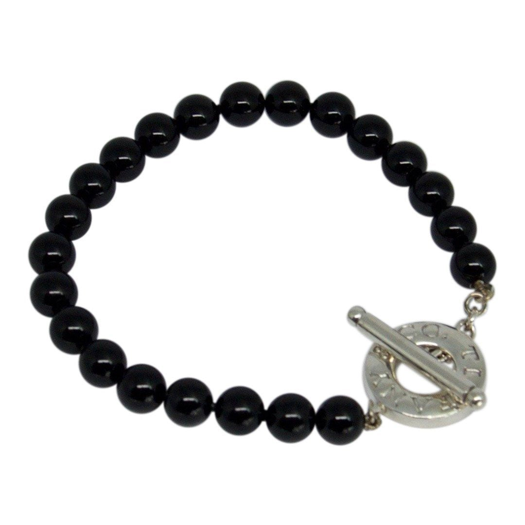 09ce24ea1 Tiffany & Co. Onyx Bead Toggle Bracelet– Oliver Jewellery