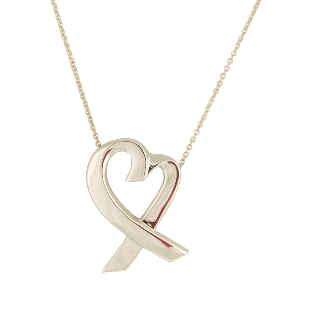 Tiffany & Co. Paloma Picasso Large Loving Heart Pendant Necklace Necklaces Tiffany & Co.