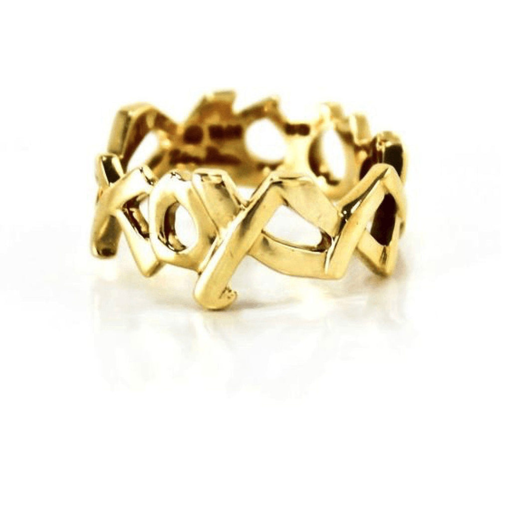Tiffany & Co. Paloma Picasso Love Hugs and Kisses 'XO' Ring Rings Tiffany & Co.