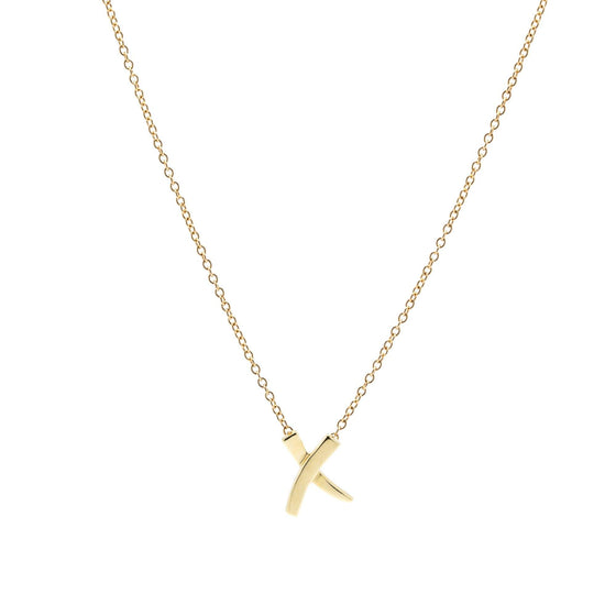 Tiffany & Co. Paloma Picasso Mini X Pendant Necklace Necklaces Tiffany & Co.