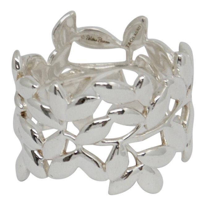 Tiffany & Co. Paloma Picasso Olive Leaf Band Ring Rings Tiffany & Co.