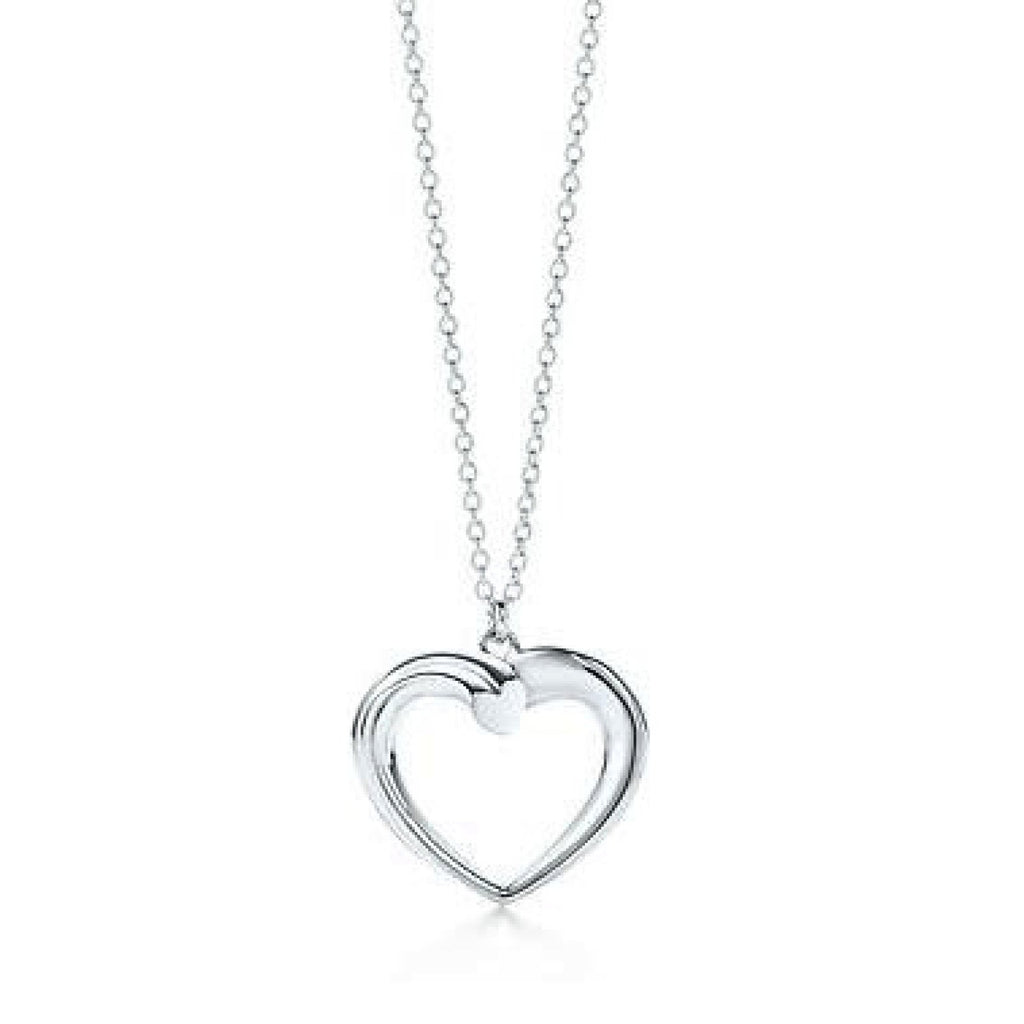 Tiffany & Co. Paloma Picasso Tenderness Heart Pendant Necklace Necklaces Tiffany & Co.