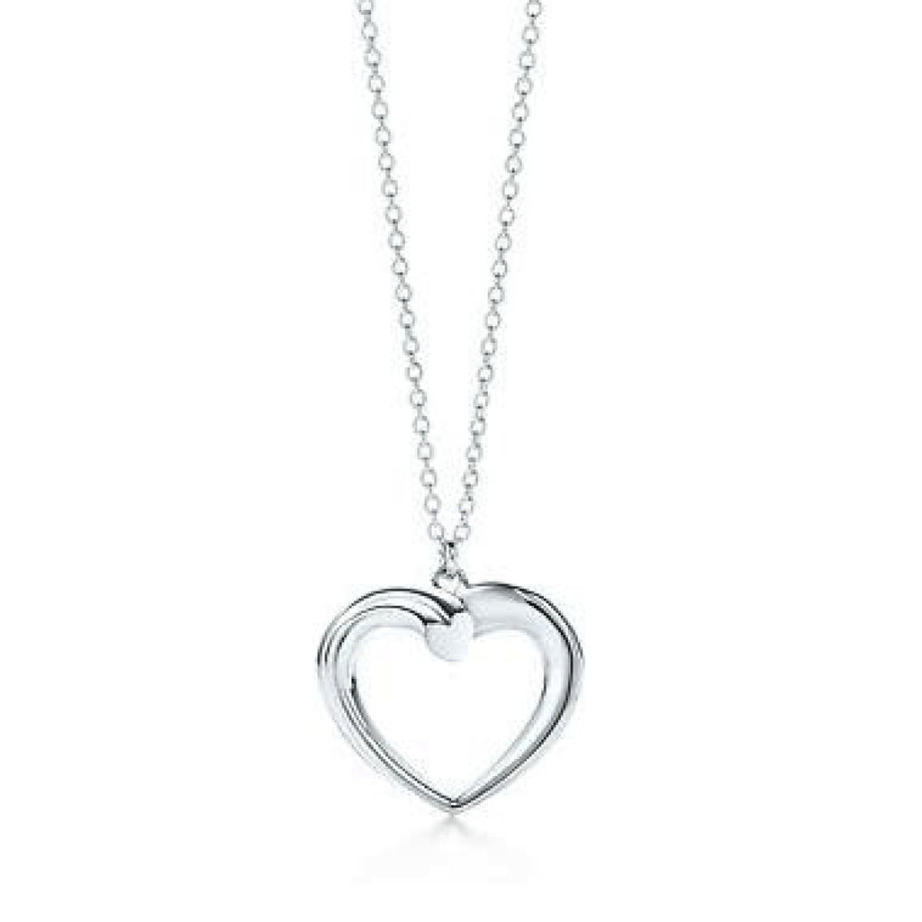 Tiffany & Co. Paloma Picasso Tenderness Heart Pendant Necklace - Necklaces