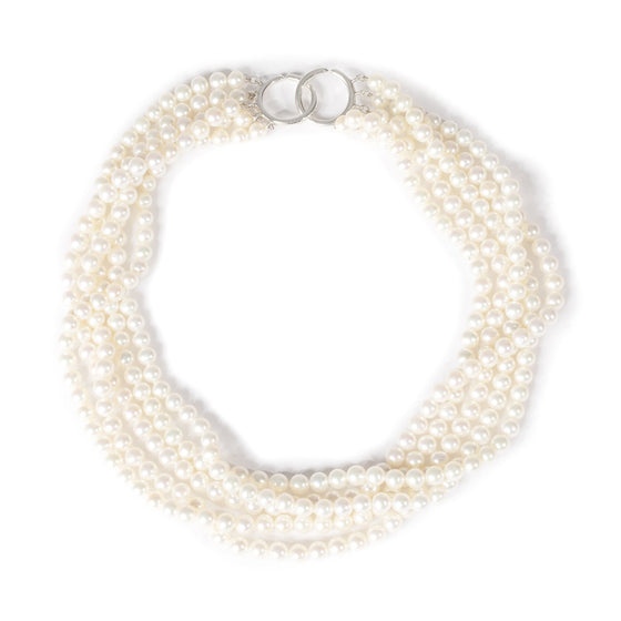 Tiffany & Co. Paloma Picasso Torsade Pearl Necklace Necklaces Tiffany & Co.