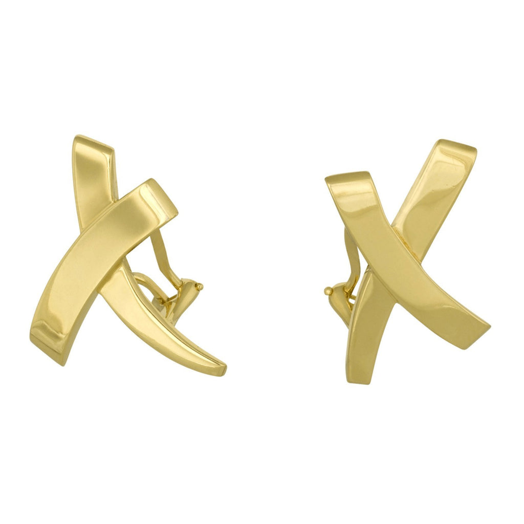 Tiffany & Co. Paloma Picasso 'X' Earrings Earrings Tiffany & Co.