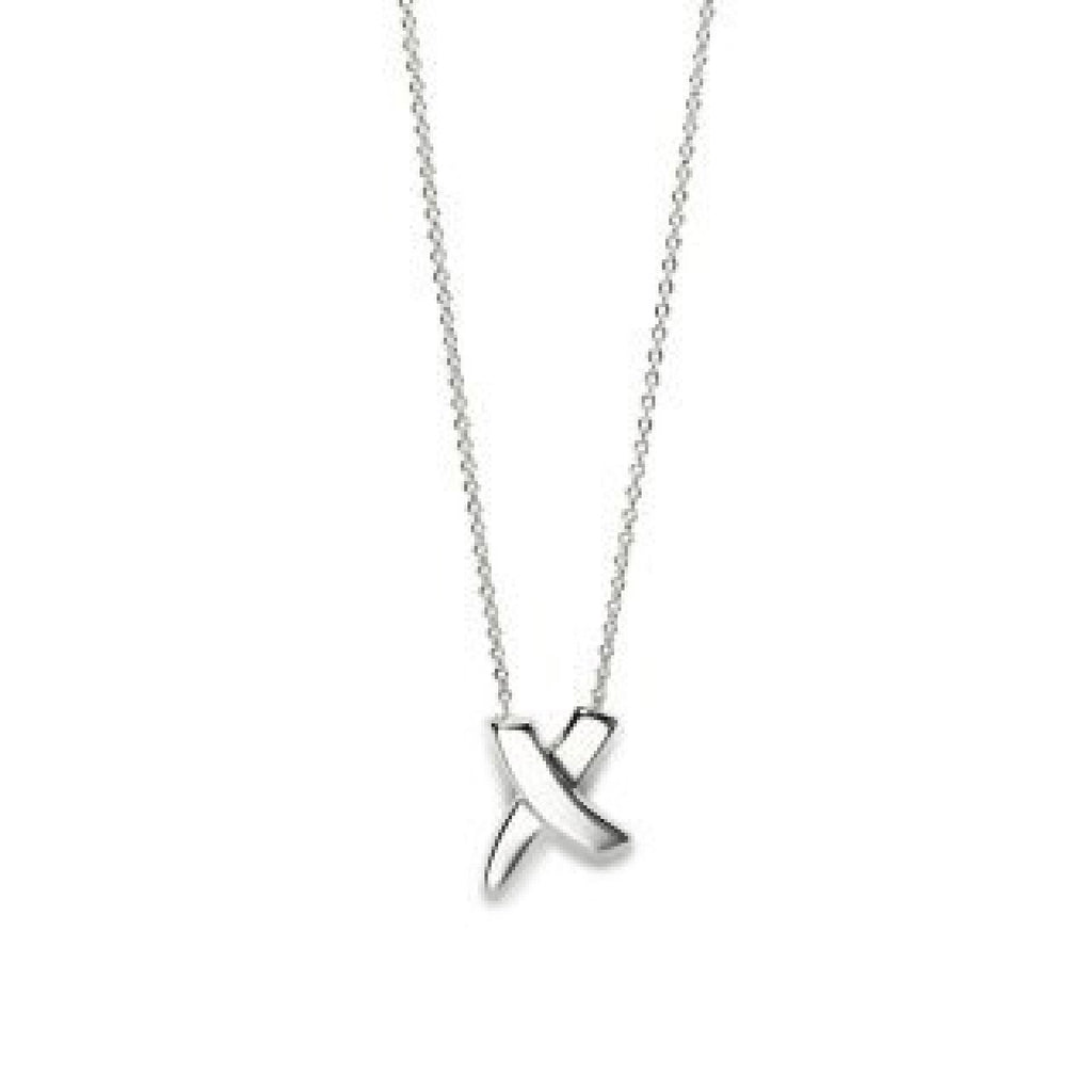 Tiffany & Co. Paloma Picasso X Pendant Necklace Necklaces Tiffany & Co.