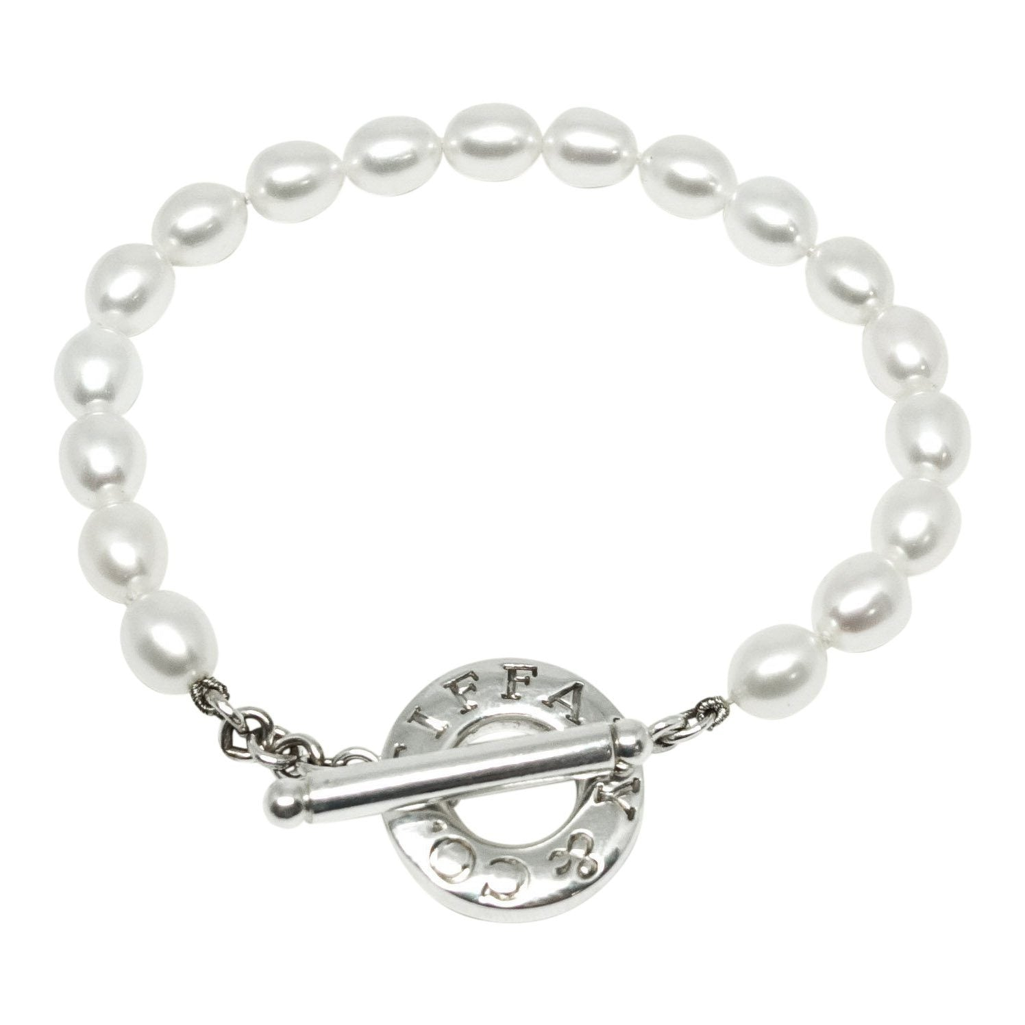 3a723507c Tiffany & Co. Pearl Bracelet with Sterling Silver Toggle Clasp Bracelets  Tiffany & Co.