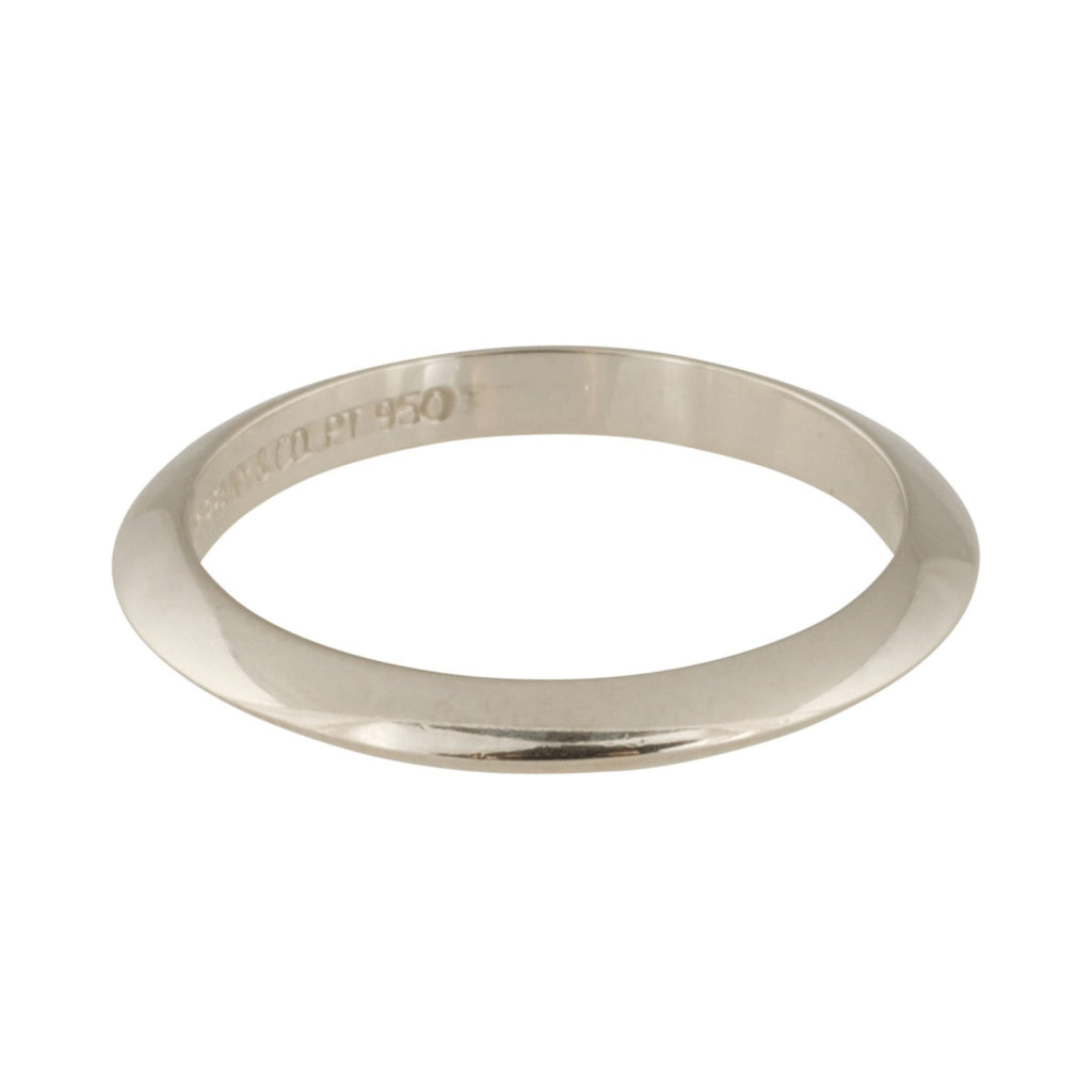 Tiffany & Co. Platinum Wedding Band Rings Tiffany & Co.