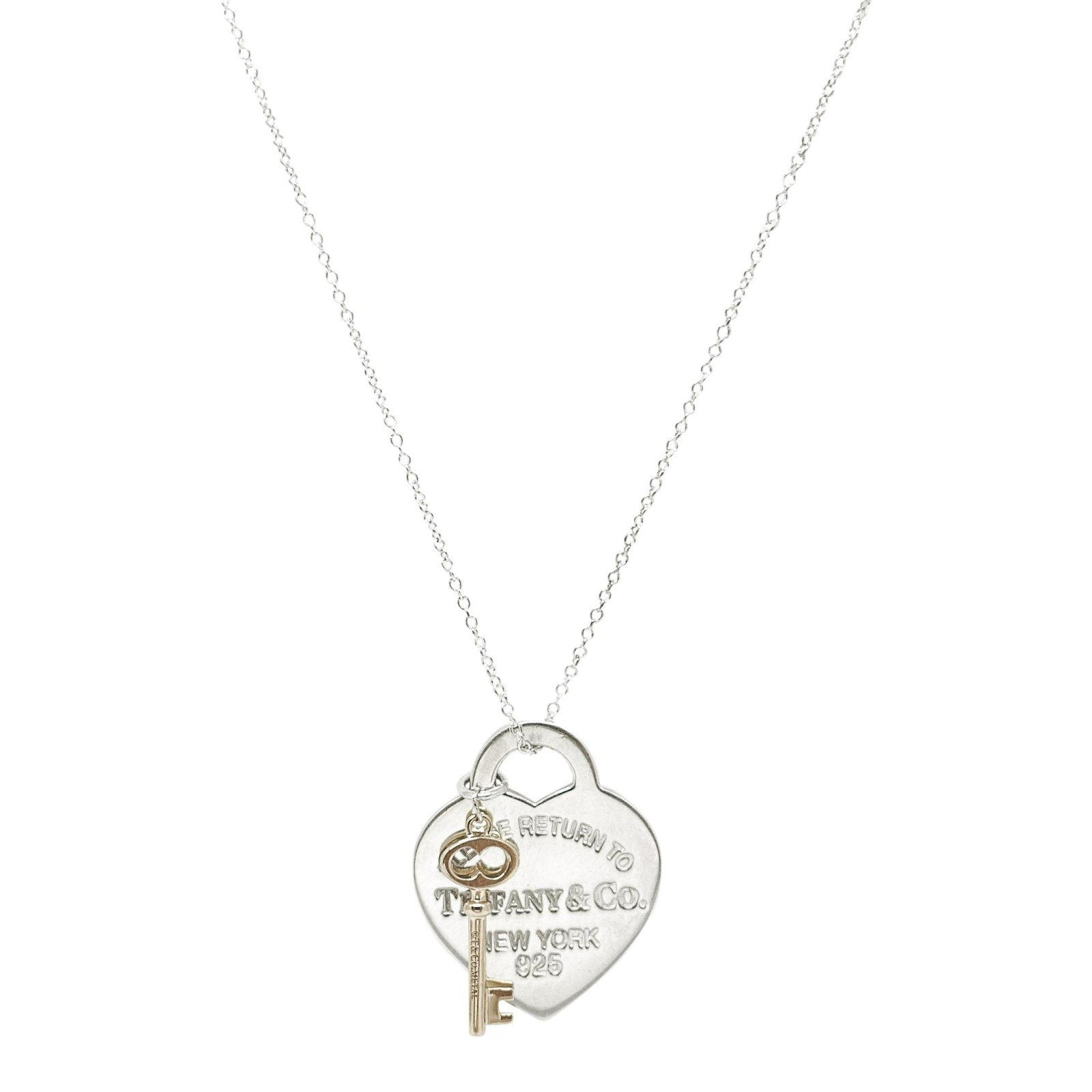 25a62c1ab Tiffany & Co. Return to Tiffany Heart Key Pendant Necklace Necklaces Tiffany  & Co.
