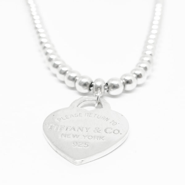03f4046d6 Tiffany & Co. Return to Tiffany Heart Tag Bead Necklace– Oliver Jewellery