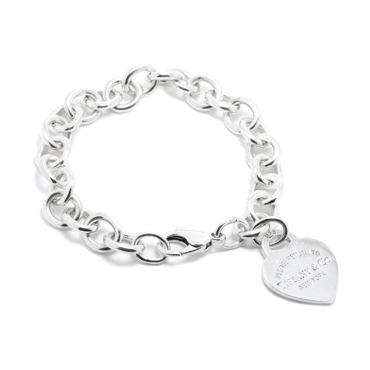 Tiffany & Co. Return to Tiffany Heart Tag Charm Bracelet Bracelets Tiffany & Co.