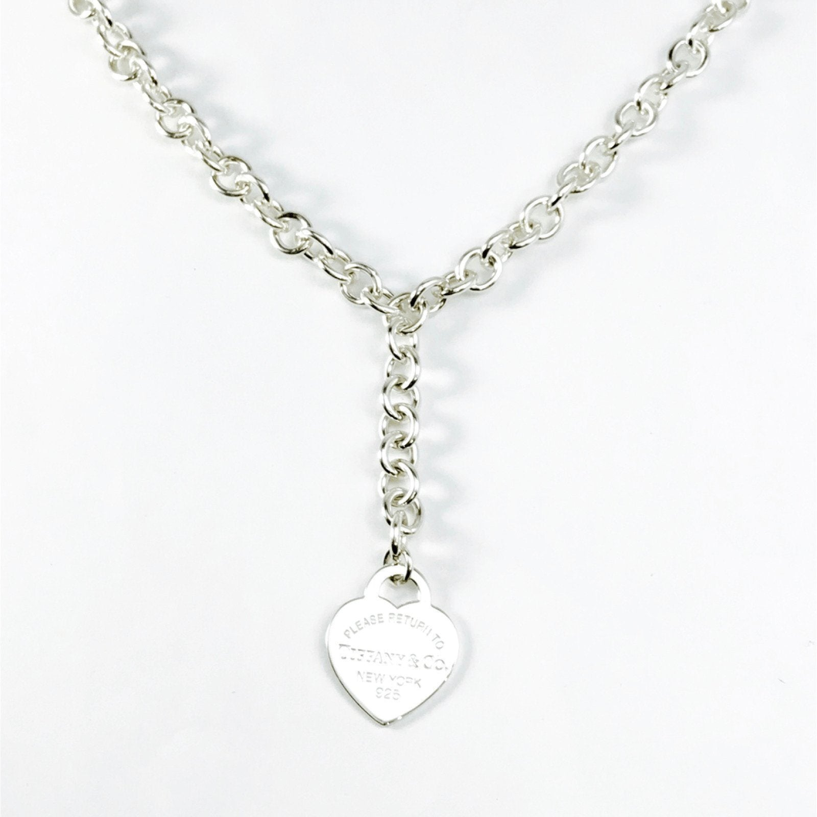 fdc5d3085 Tiffany & Co. Return to Tiffany Heart Tag Necklace– Oliver Jewellery