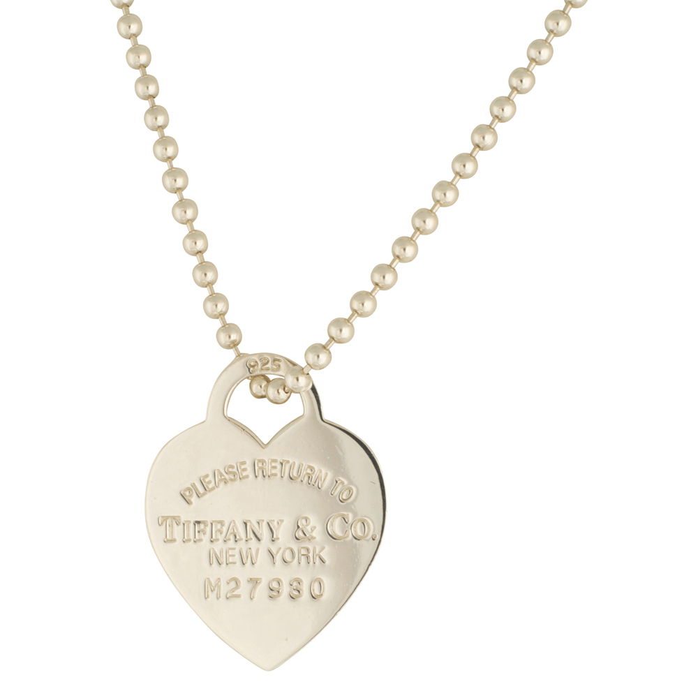 Tiffany & Co. Return to Tiffany Heart Tag Pendant Necklace Necklaces Tiffany & Co.