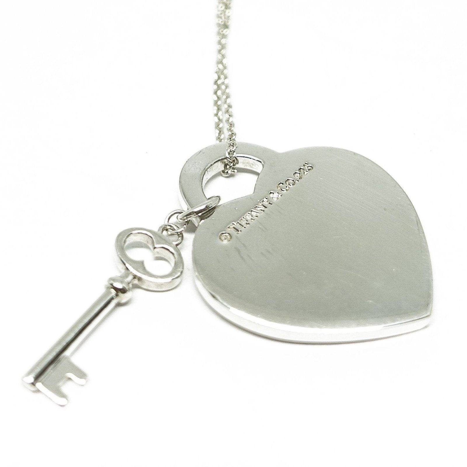 0a4942024 Return to Tiffany Heart Tag with Key Pendant Necklace Necklaces Tiffany &;  Tiffany & Co.
