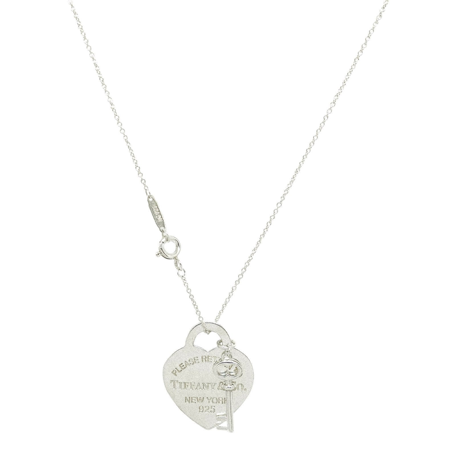 c54c52b63 Tiffany & Co. Return to Tiffany Heart Tag with Key Pendant Necklace  Necklaces Tiffany ...