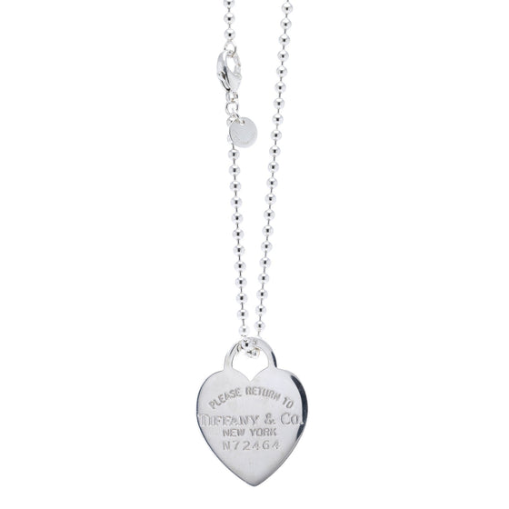 Tiffany & Co. Return to Tiffany Large Heart Tag Pendant Necklace Necklaces Tiffany & Co.