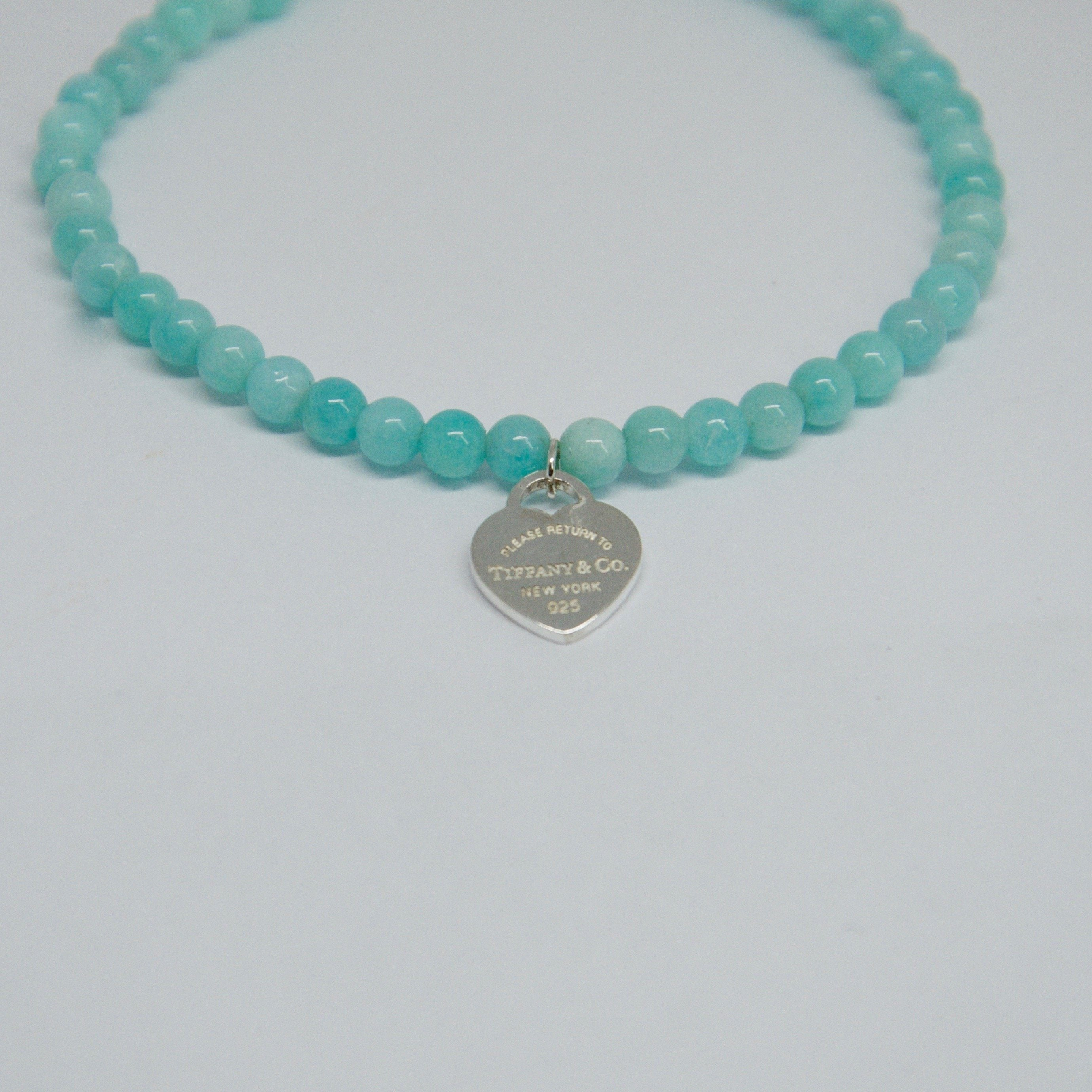 209711545d9d8 Tiffany & Co. Return to Tiffany Mini Heart Tag Bead Bracelet– Oliver ...