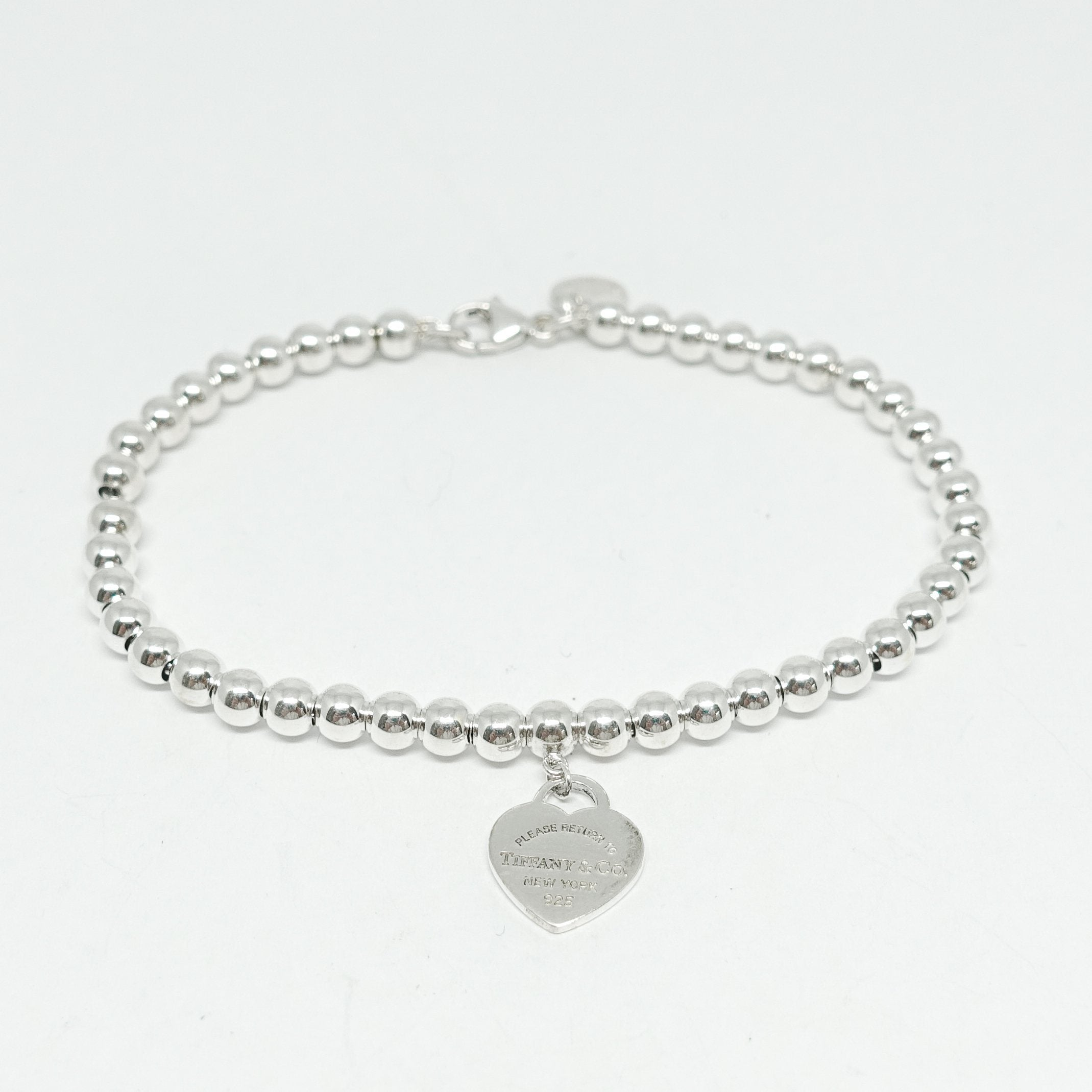 d796798ac Return to Tiffany Mini Heart Tag Bead Bracelet Bracelets Tiffany & Co ...