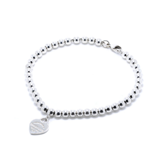 Tiffany & Co. Return to Tiffany Mini Heart Tag Bead Bracelet Bracelets Tiffany & Co.