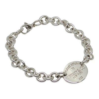 Tiffany & Co. Return to Tiffany Oval Tag Bracelet Bracelets Tiffany & Co.