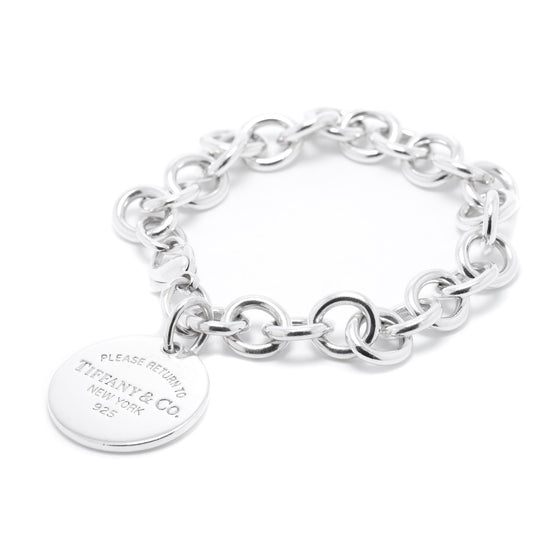 Tiffany & Co. Return to Tiffany Round Tag Charm Bracelet Bracelets Tiffany & Co.