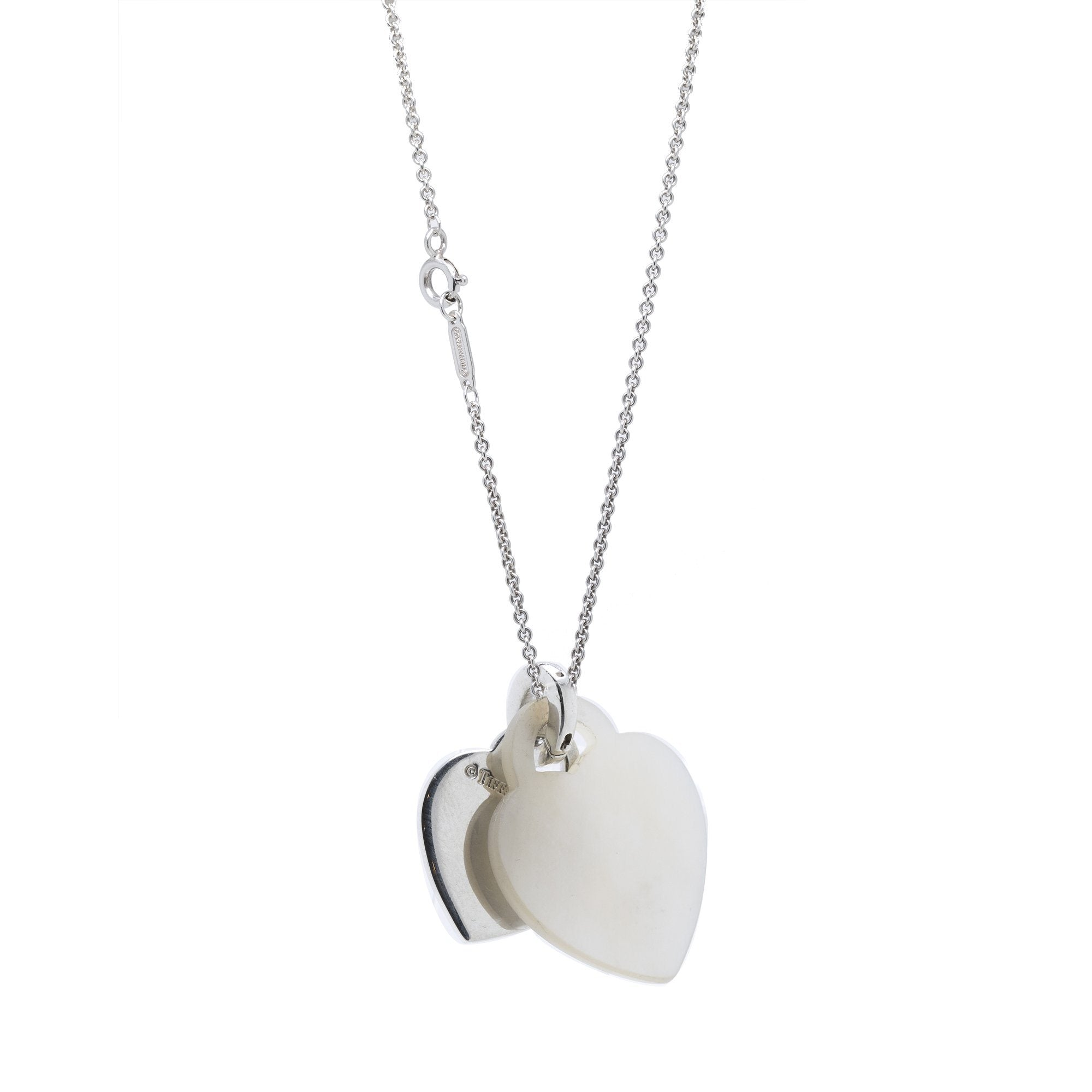 Tiffany Co Return To Tiffany Sterling Silver Mother Of Pearl Doub Oliver Jewellery