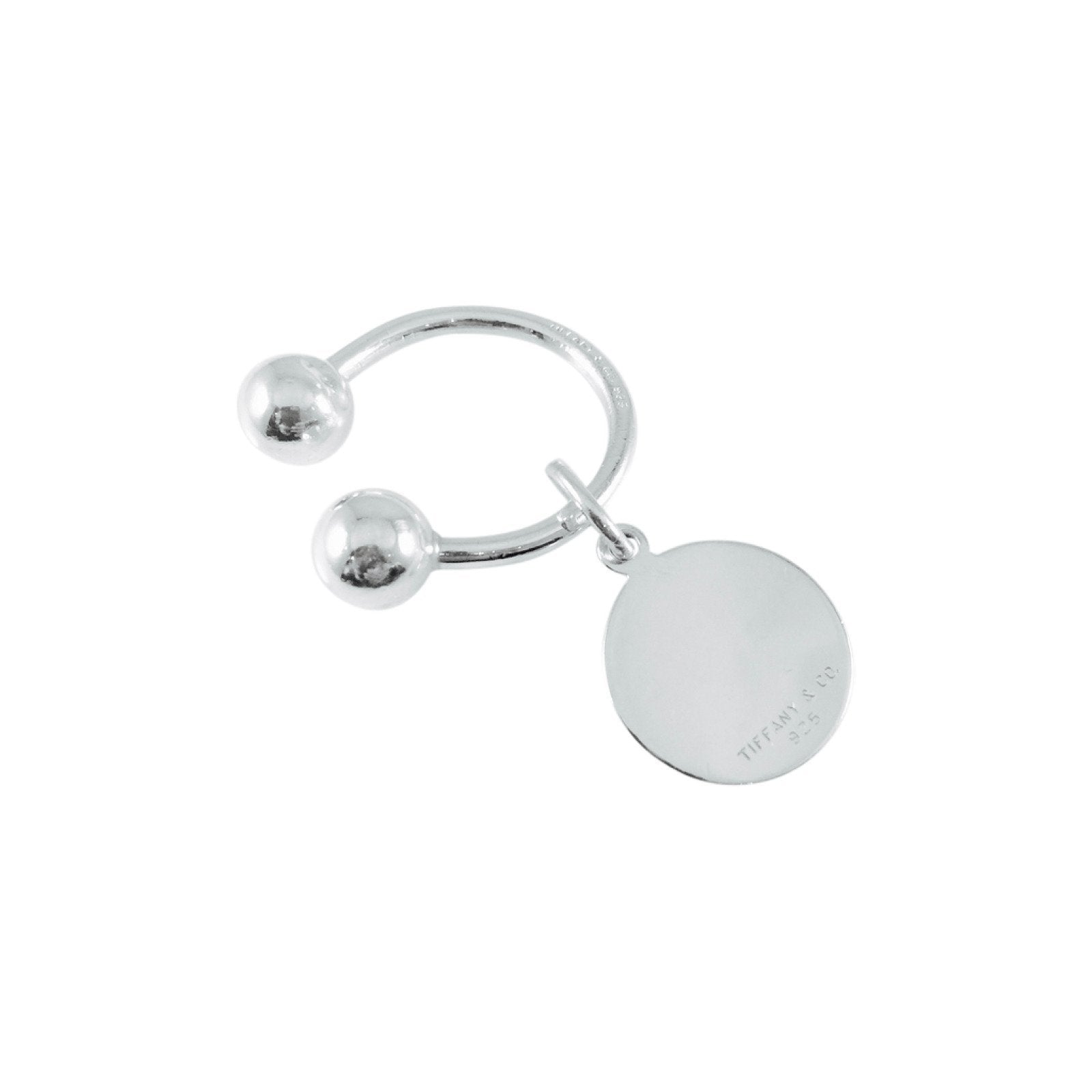 be270047f Tiffany & Co. Round Tag Key Ring in Sterling Silver Accessories Tiffany & Co .