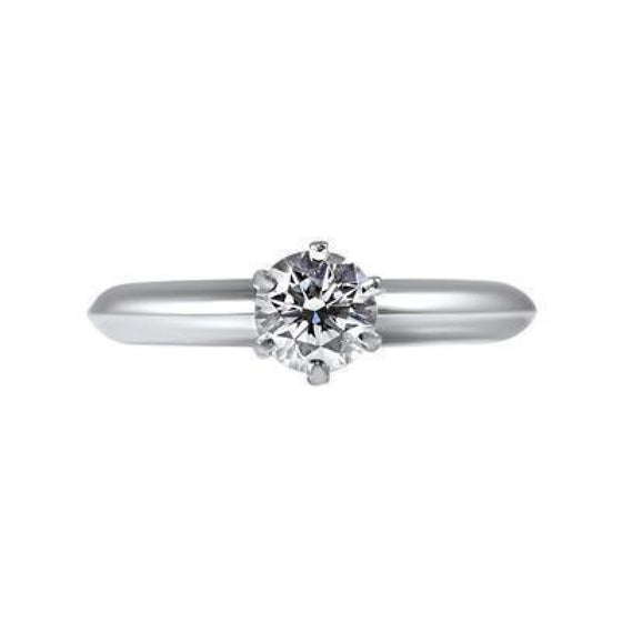 Tiffany & Co. Solitaire 0.21ct Round Diamond Engagement Ring Rings Tiffany & Co.