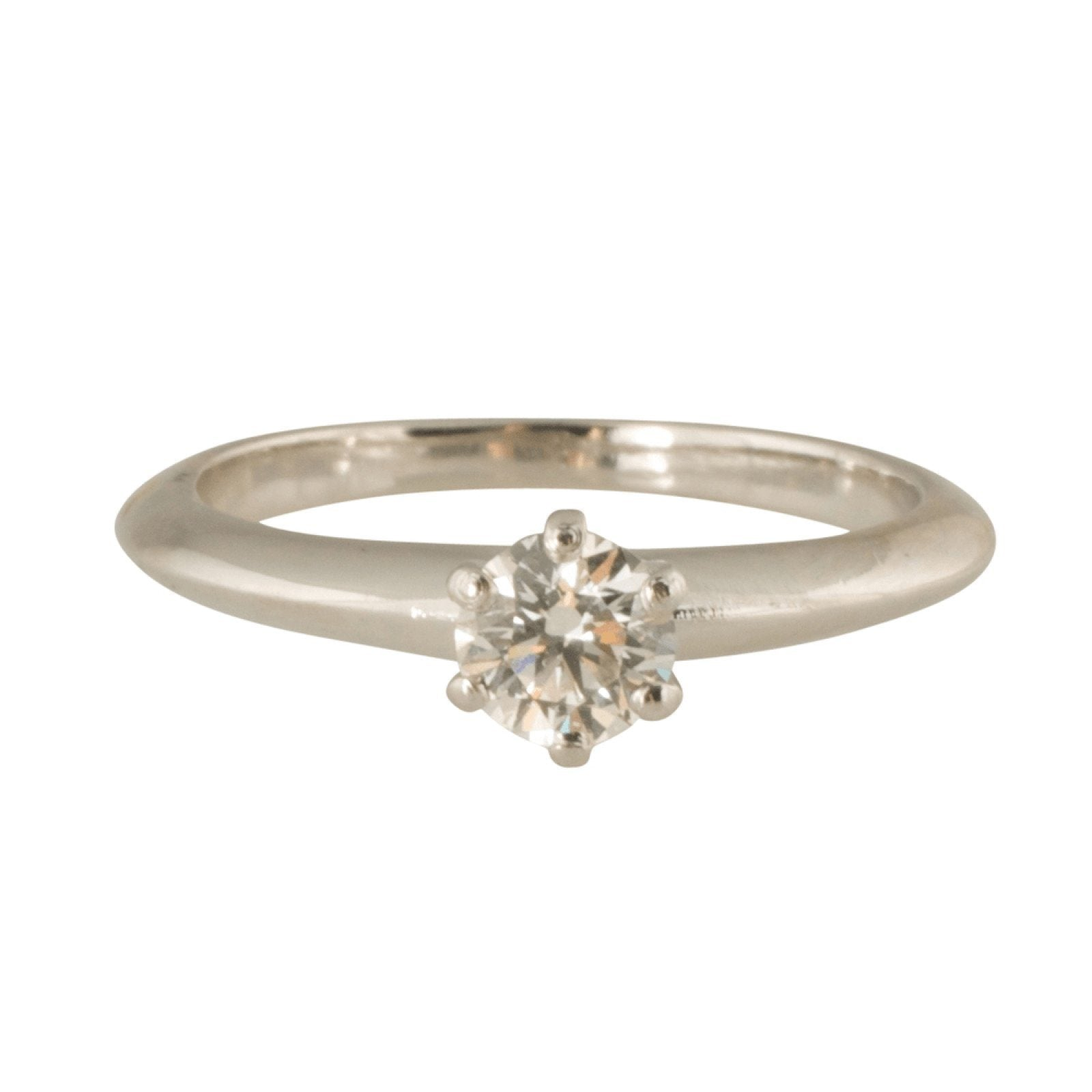 d8147579f Tiffany & Co. Solitaire 0.30ct Round Diamond Engagement Ring Rings Tiffany  & Co.